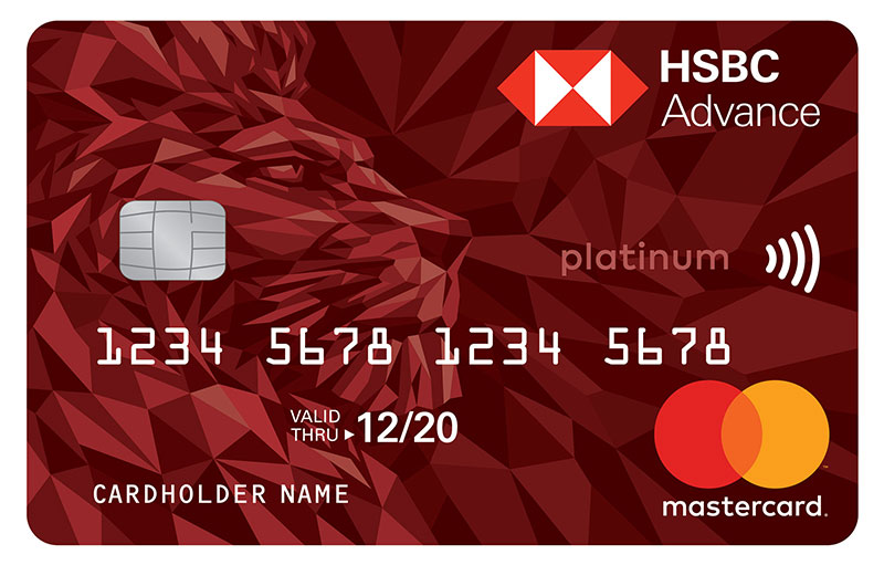 Advance Credit Card | Credit Cards - HSBC UAE