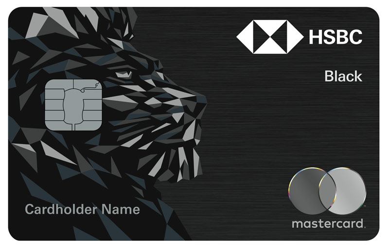 HSBC Black Credit Card | Credit Cards - HSBC UAE