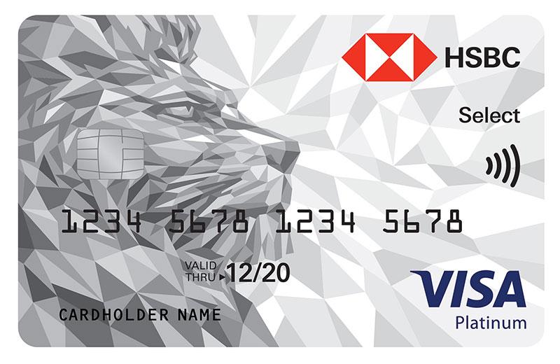Platinum Select Credit Card - HSBC UAE